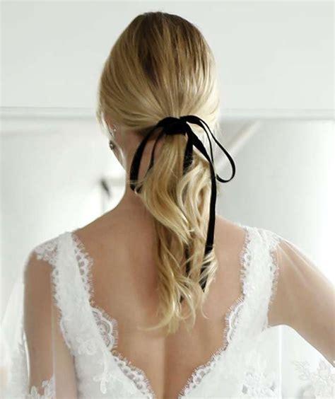 Wedding Dresses Hair by Bridal Fashion Week Trending Wedding Hairstyles For