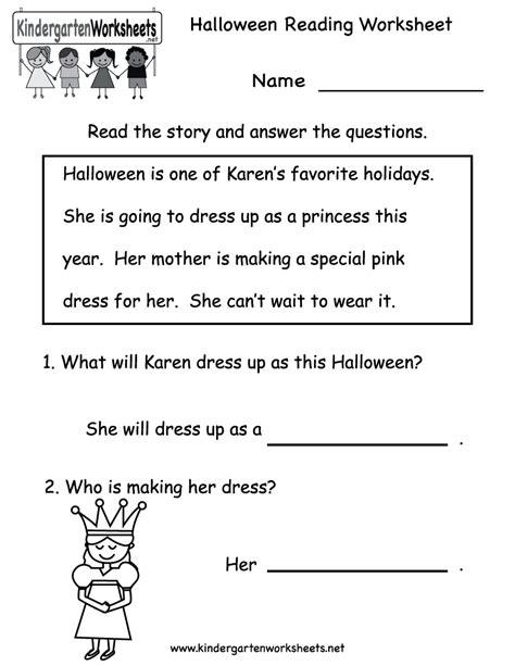 Beginning Reading Worksheets Printable