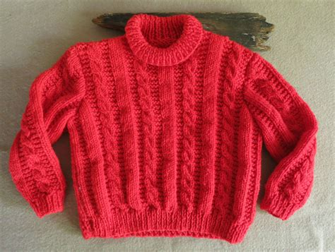 Handmade Wool Baby Clothes - baby wool knit clothes cable knit baby jumper