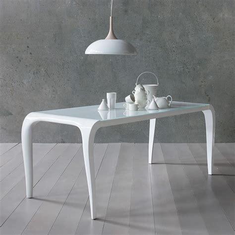 tavolo bianco design aristocrito tavolo di design in poliuretano fisso o