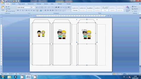cara membuat kartu ucapan lebaran sendiri d i y cara membuat amplop lebaran how to make an