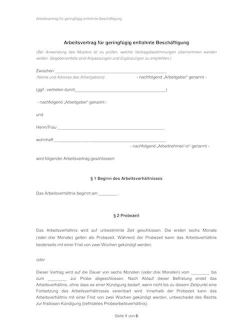 Vorlage Kündigung Arbeitsvertrag Mit Aufhebungsvertrag Arbeitsvertrag Muster Arbeitsvertr 228 Ge Mit Rechtshinweisen