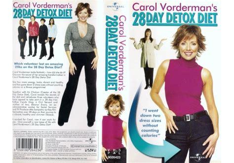 Carol Vorderman Detox Diet Dvd by Carol Vorderman S 28 Day Detox Diet 2000 On Universal