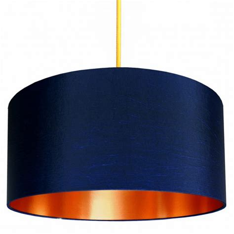 Floor And Decor Outlet midnight lampshade with brushed copper lining love frankie