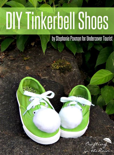 diy tinkerbell shoes easy diy tinkerbell shoes for your favorite
