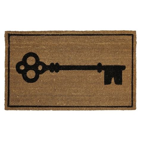 threshold upstate key doormat 1 6 quot x2 target