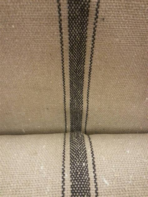 grain sack fabric upholstery grain sack fabric farmhouse fabric tan fabric black 3