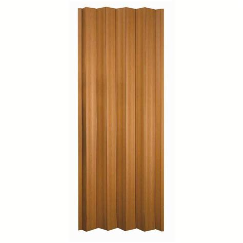 Spectrum Accordion Doors by Spectrum 36 In X 80 In Via Vinyl Fruitwood Accordion