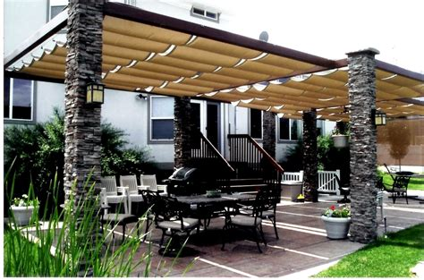 Pull Out Patio Awnings Slide Wire Cable Canopies Retractable Awning Dealers