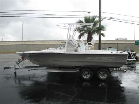 epic boats for sale in texas epic 22 boats for sale in texas