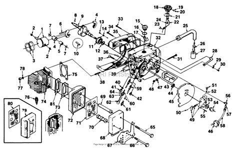 homelite xl parts diagram homelite xl 925 chain saw ut 10415 a parts diagram