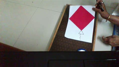 How To Make A Paper Kite - how to make a kite easy paper kite for paper craft