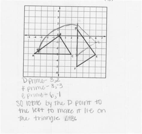 Rigid Transformations Worksheet by 100 Motion Geometry Worksheets Grade 3