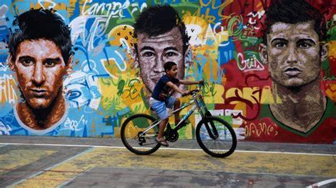 Football Artwork Messi 1 5 spectacular world cup brazil 2014 ads ctv news