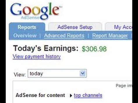adsense youtube pay per view how much does google adsense pay youtube