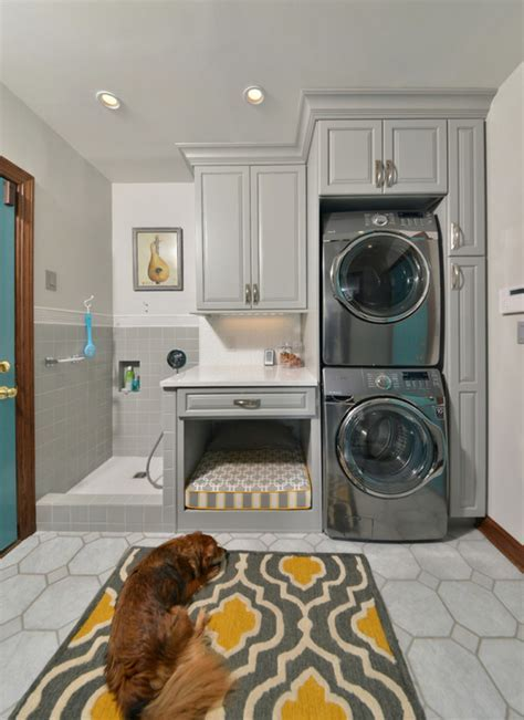 She Remodeled Her Laundry Room For Her Dog. Now? I'm Never