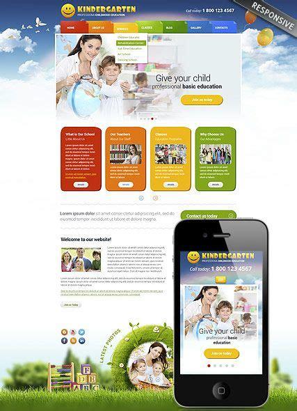 website templates for kindergarten kindergarten website template bootstrap website design
