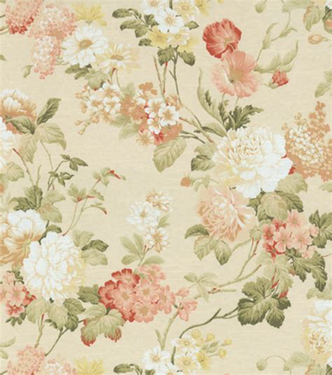 home decor print fabric richloom studio moments coral