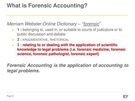 Mba Forensic Accounting Degree by The Impact Of Forensic Accounting On Fraud Detection