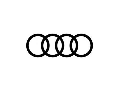 audi circles on circular logos logo design