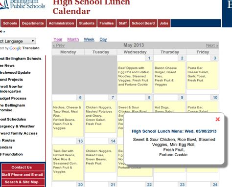 Bellingham School District Calendar Bellingham School District Drupal And