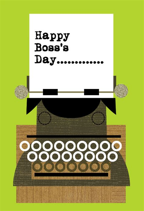happy boss day boss day card   island