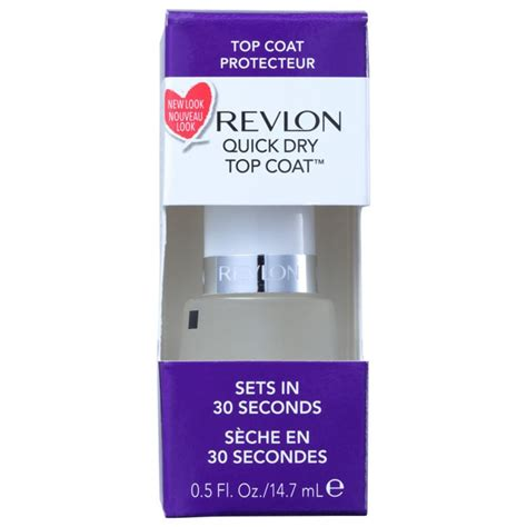 Revlon Top Coat base revlon top coat fixadora de esmalte