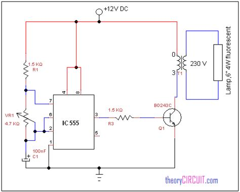 fluorescent l driver circuit diagram