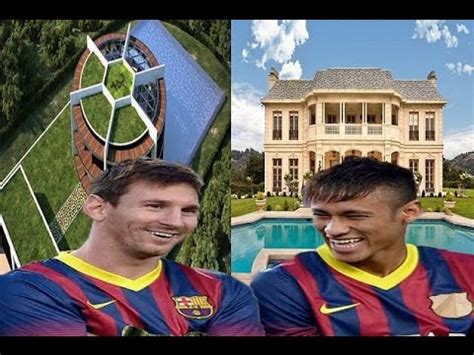 haus messi lionel messi s house vs neymar s house tour 2017hd inside