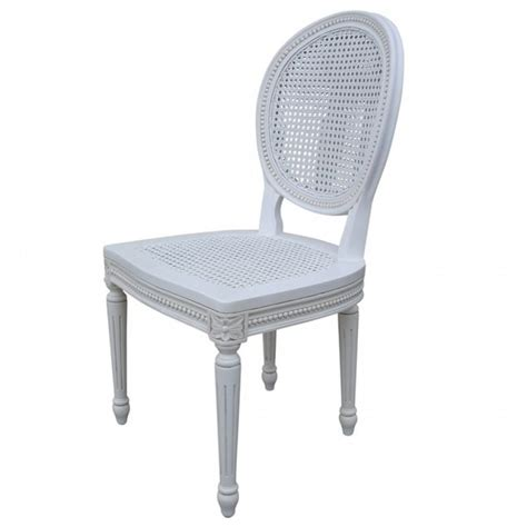 White Wicker Chairs Uk by Chateau White Rattan Dining Bedroom Chair La