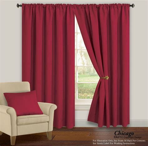 Chicago Fully Lined Pencil Pleat Curtains From Century Textiles