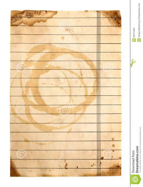 lined paper free stock old lined paper stock image image of abstract blank