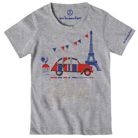 Eiffel Tshirt t shirt 2cv tour eiffel