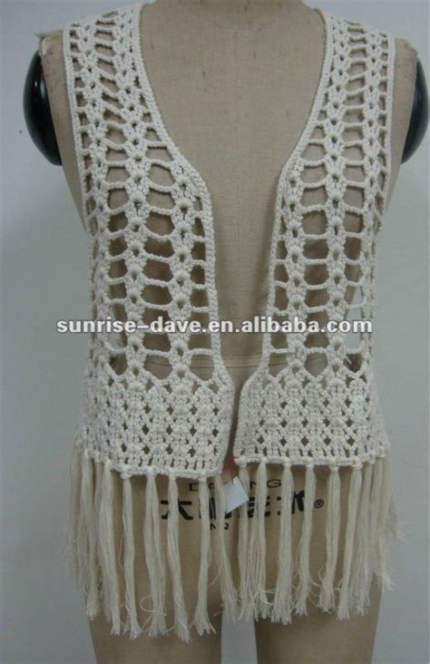 Macrame Crochet Patterns - grande armhole croch 234 colete crochet vests