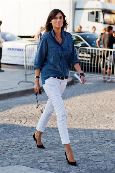 The White Jean Is All About And Summer by How To Wear White For Summer 2016 I Mikado