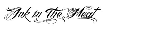 tattoo font ink in the meat the best tattoo fonts tattoo love