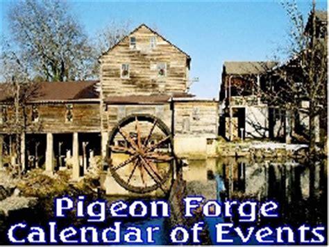 pigeon forge tn calendar