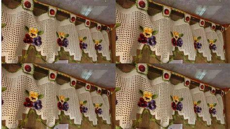 cortinas tejidas  crochetcortinas tejidas  crochet youtube