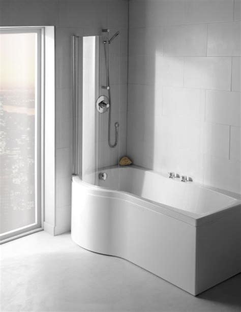 carron delta shower bath screen