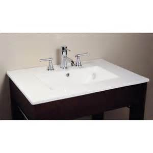 Vanity Tops China Avanity 49 Quot Vitreous China Vanity Top With Rectangular