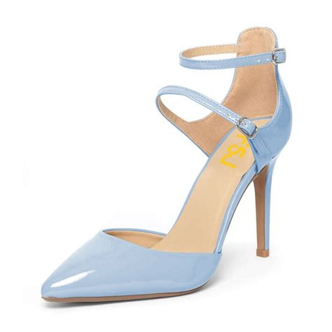light blue strappy heels light blue closed toe sandals ankle strap stiletto heels