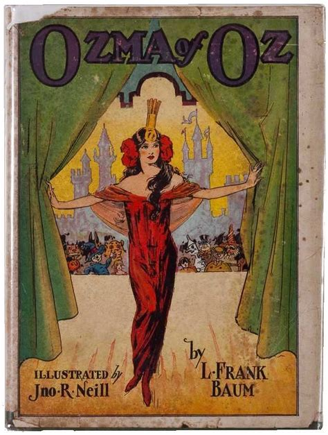 Ozma Of Oz by Ozma Of Oz By L Frank Baum A Lambertville Digital