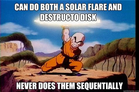 Solar Meme - can do both a solar flare and destructo disk never does