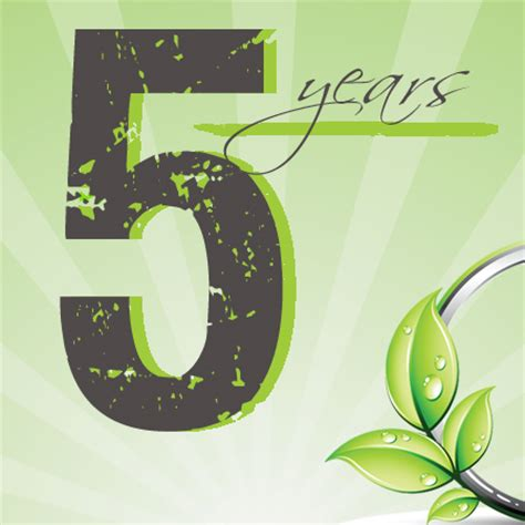 how is 5 in years 5 year anniversary promotion jenrus freelance