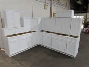 Kitchen Cabinet Set by Cubitac Latte Ridgefield Kitchen Cabinet Set