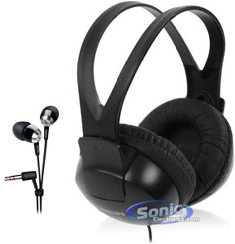 Headphone Philips Shp 1900 philips shp1900 ear headphones she7000 earbuds combo pack