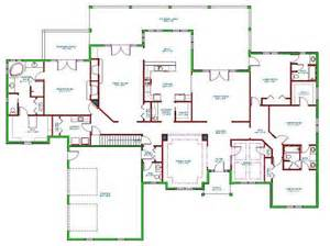 Ranch Floor Plan by Ideas Floor Plans For Ranch Homes With The Hall Floor