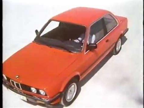 Bmw 3er Werbung by Bmw 3er Werbung 1983