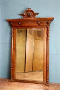 antiques atlas decorative carved oak wall mirror