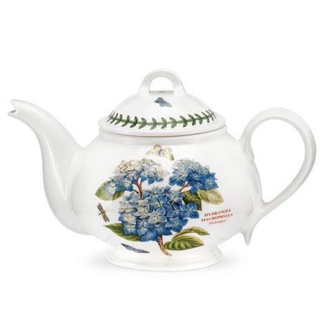 Portmeirion Botanic Garden Teapot 2pt Hydrangea Portmeirion Botanic Garden Teapot